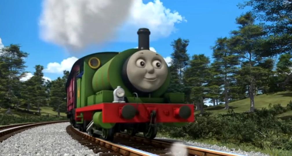 Il trenino Thomas personaggi Percy Locomotiva  - personaggio cartone animato il trenino Thomas - cartoni animati