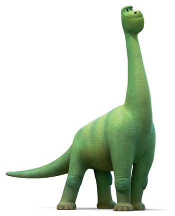 Il viaggio di Arlo - Buck - Fratello di Arlo - Dinosauro Apatasauro - The good dinousaur - Film di animazione Disney Pixar