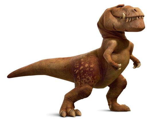 Il viaggio di Arlo - Butch - Tirannosauro Rex - The good dinousaur - Film di animazione Disney Pixar