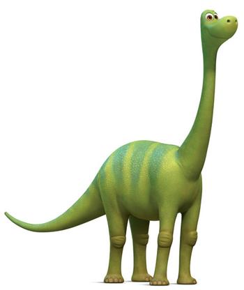 Il viaggio di Arlo - Libby - Sorella Arlo - The good dinousaur - Film di animazione Disney Pixar