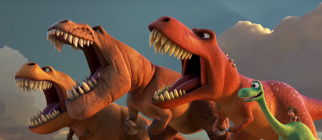 Il viaggio di Arlo film di animazione Disney Pixar Dinosauri