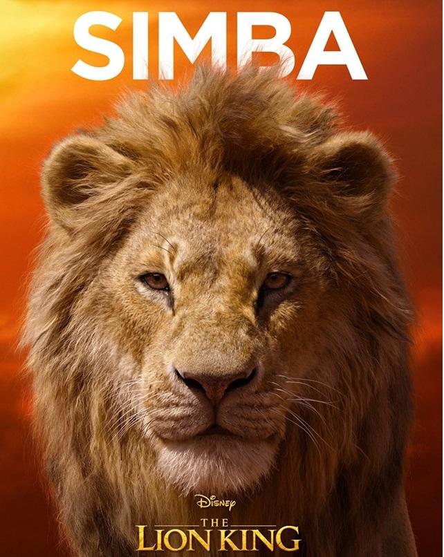 Il re leone film Disney 2019 - personaggi Simba