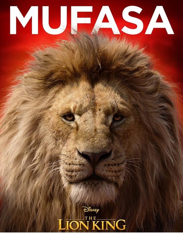 Il re leone film Disney 2019 - personaggi Mufasa