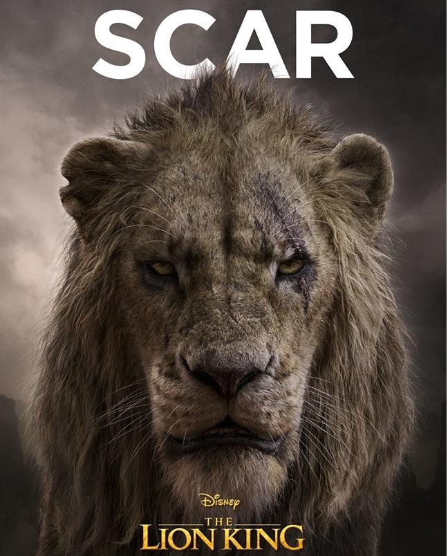 Il re leone film Disney 2019 - personaggi Scar