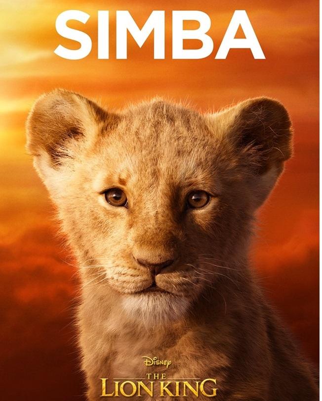 Il re leone film Disney 2019 - personaggi Simba cucciolo