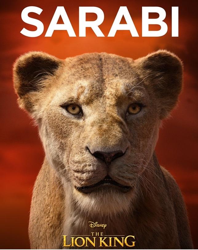 Il re leone film Disney 2019 - personaggi Sarabi
