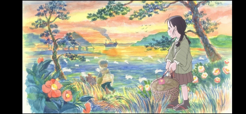 In questo angolo di mondo - Kono sekai no katasumi ni - film di animazione giapponese 2016 - anime -  Suzu ama dipingere