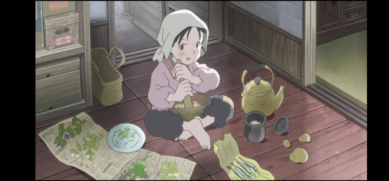 In questo angolo di mondo - Kono sekai no katasumi ni - film di animazione giapponese 2016 - anime -  Suzu cucina