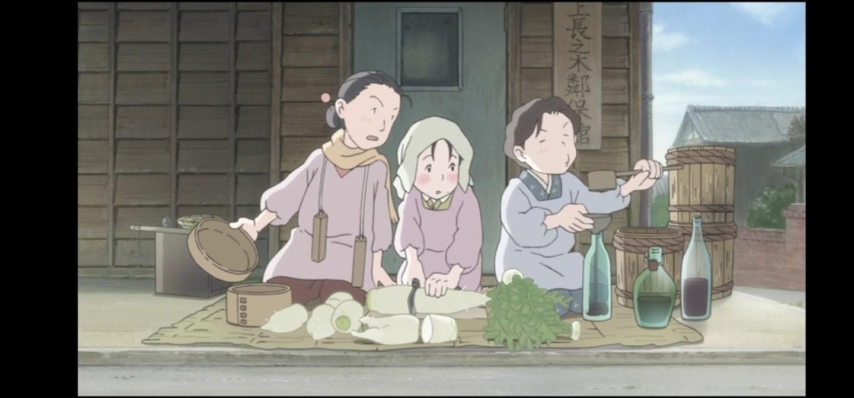 In questo angolo di mondo - Kono sekai no katasumi ni - film di animazione giapponese 2016 - anime -  Razionamento cibo