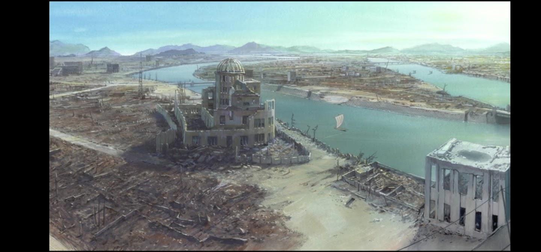 In questo angolo di mondo - Kono sekai no katasumi ni - film di animazione giapponese 2016 - anime -  Raid aereo città distrutta