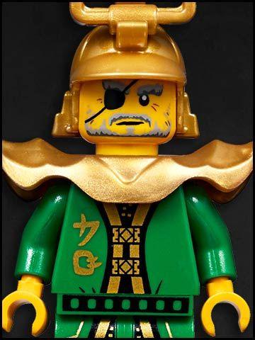 Lego Ninjago cartone animato - personaggi - Hutchins royal guard