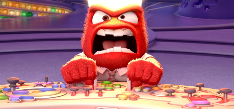 Inside out - Personaggi - Rabbia - Film Disney Pixar - Film di animazione - emozioni