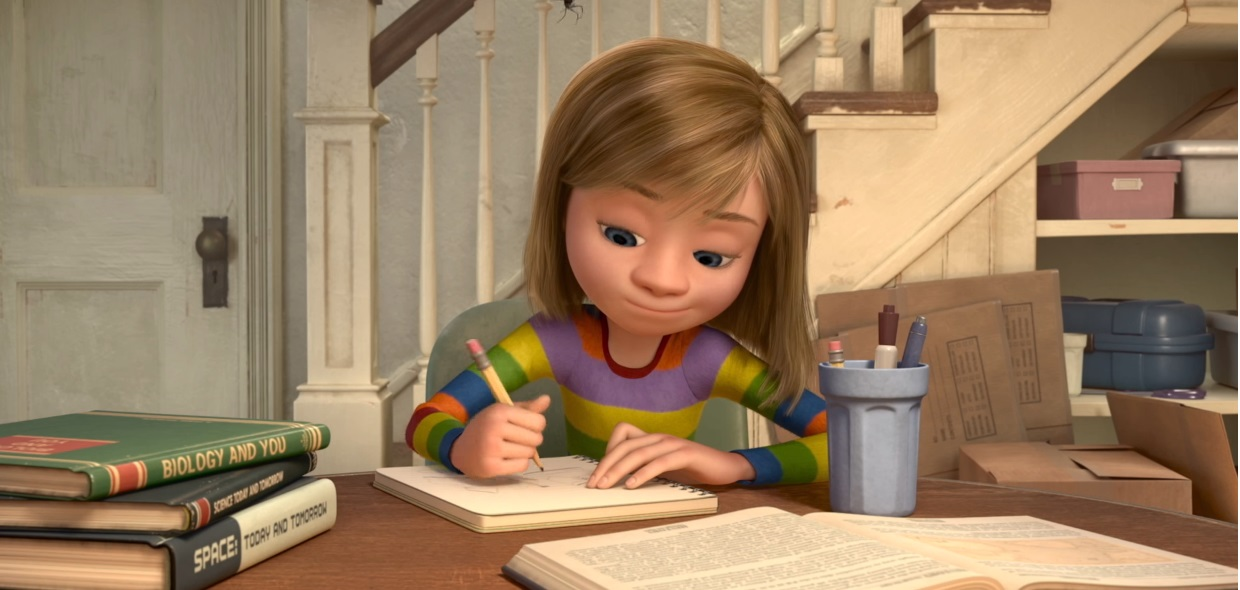 Inside out - Personaggi - Riley - Film Disney Pixar - Film di animazione - emozioni