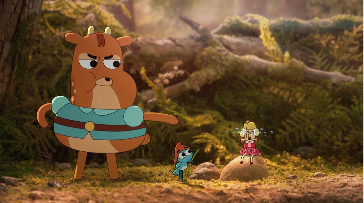 Il principe Ivandoe - cartone animato - boing cartoni animati - tv -