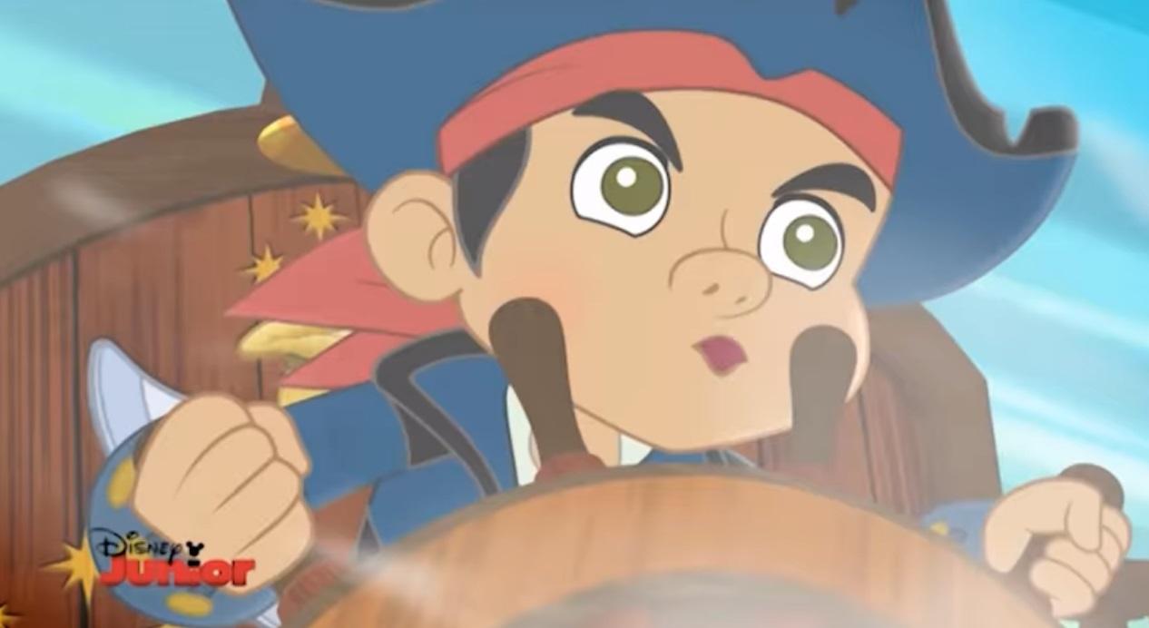 Jake e i pirati dell'isola che non c'è cartone animato Pirta Jake