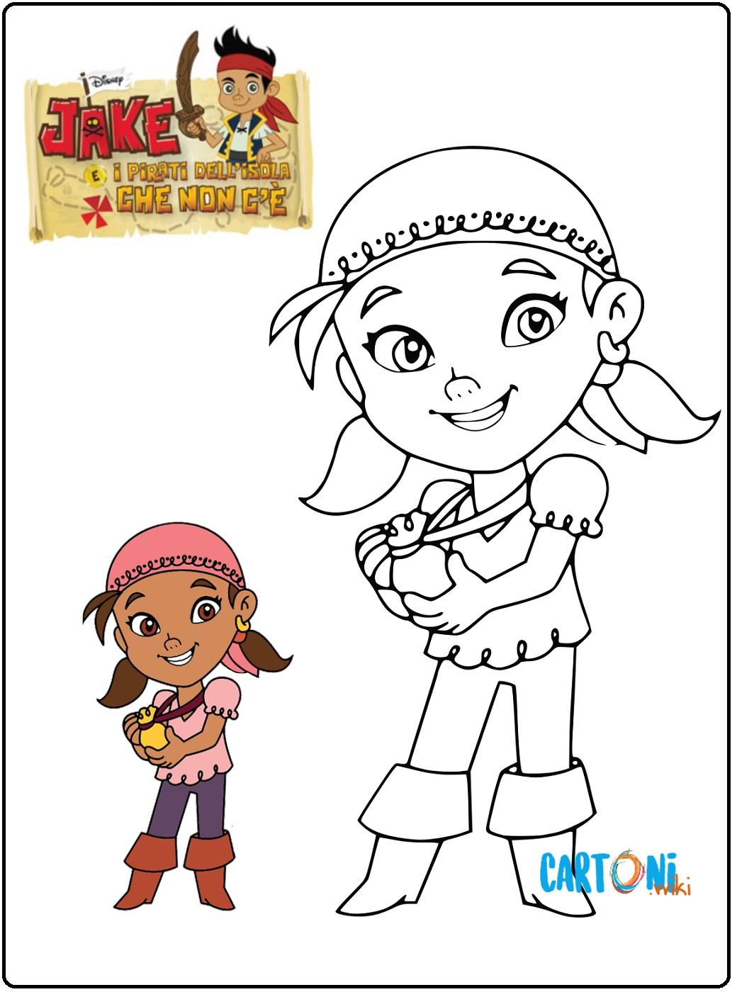 Disegno Izzy da colorare - Cartoni animati