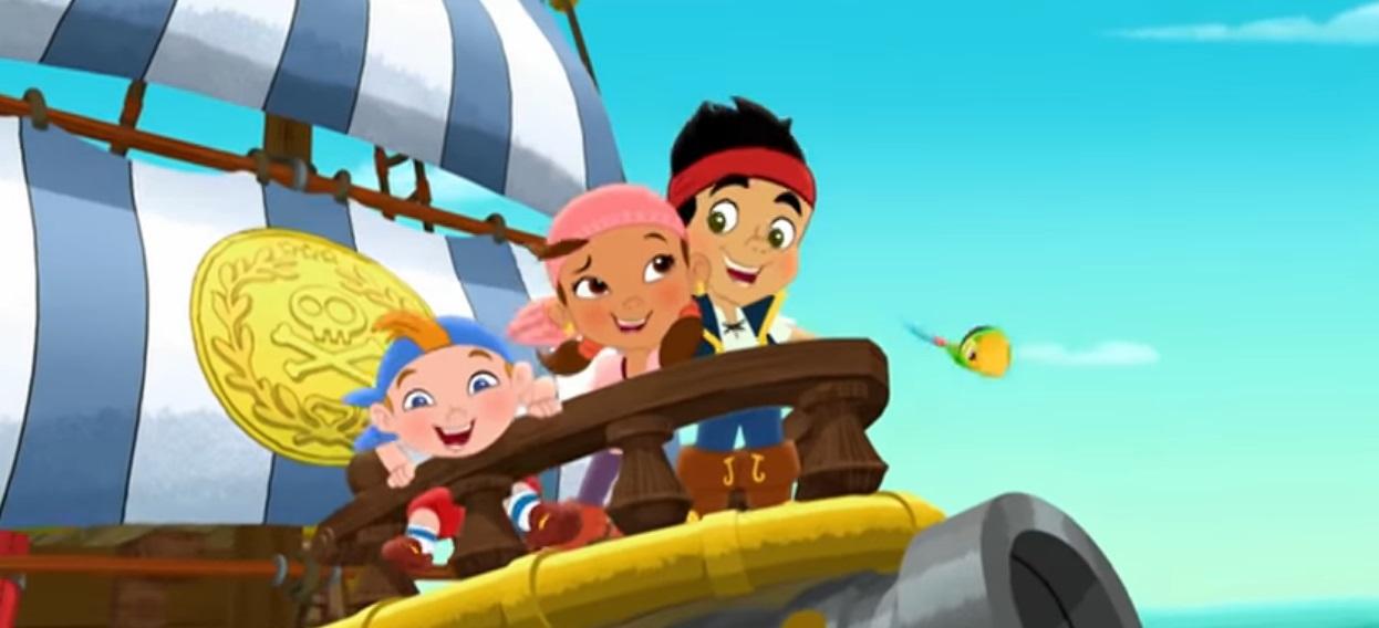 Sigla Jake e i pirati dell'isola che non c'è - testo sigla cartone Jake e i pirati dell'isola che non c'è Disney
