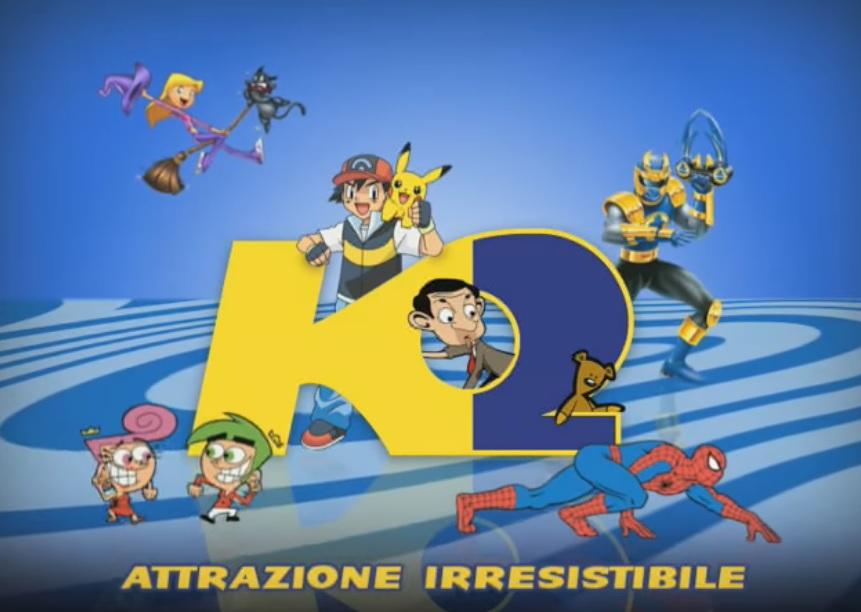 K2 tv - Guida Tv Cartoni animati