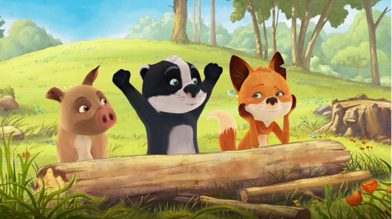 La famiglia Volpitassi cartoni animati Rai Yoyo Cartone animato prescolare