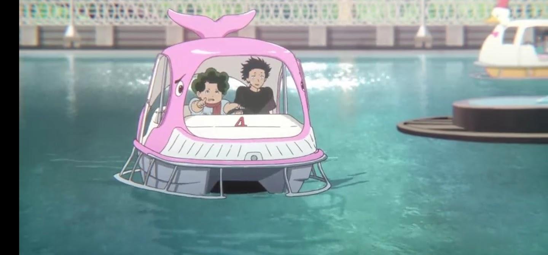 Parco divertimenti - La forma della voce Dvd anime cartoni animati film di animazione 2016 - A silent voice