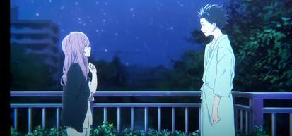 Ishida esce dal coma - La forma della voce Dvd anime cartoni animati film di animazione 2016 - A silent voice