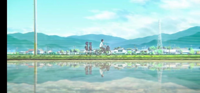 Ishida in bicicletta - La forma della voce Dvd anime cartoni animati film di animazione 2016 - A silent voice