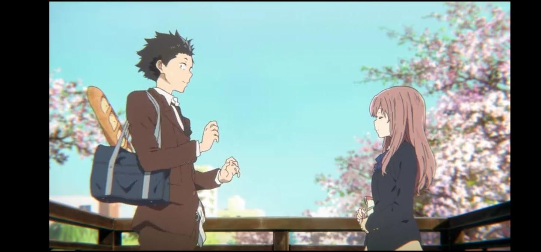 Ishida e Shoko - La forma della voce Dvd anime cartoni animati film di animazione 2016 - A silent voice
