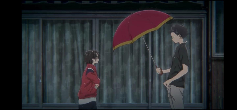 Shoya trova Yuzuru, che è scappato di casa - La forma della voce Dvd anime cartoni animati film di animazione 2016 - A silent voice
