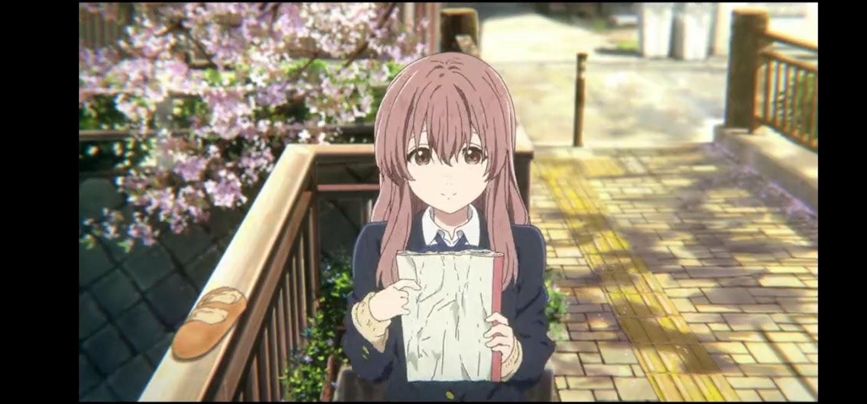 Shoko Nishimiya La forma della voce personaggi anime cartoni animati film di animazione 2016 - A silent voice - bullismo