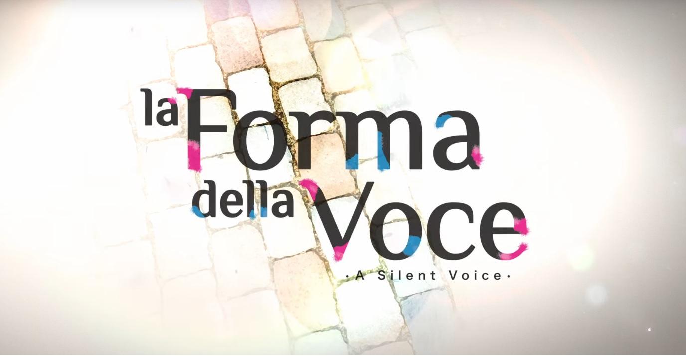 La forma della voce - Film Anime 2016