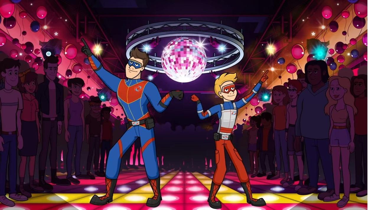 Le avventure di Kid Danger cartone animato - persoanggi - trama - episodi - sigla - immagini - Capitan Man e Henry Danger