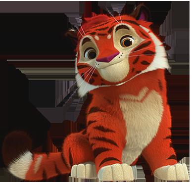 Tig - Leo & Tig cartoni animati bambini Rai Yoyo Personaggi Tig
