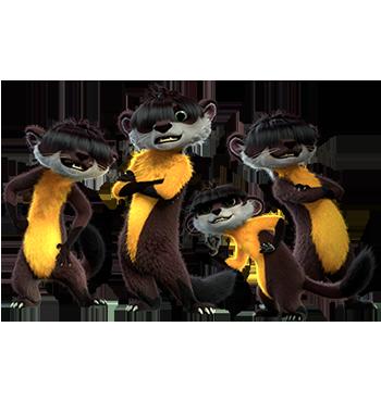 Martens - Leo & Tig cartoni animati bambini Rai Yoyo Personaggi Leo