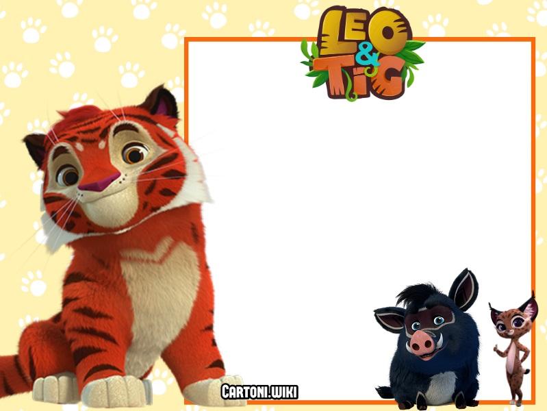 Inviti feste di compleanno Leo & Tig - Party Invitations