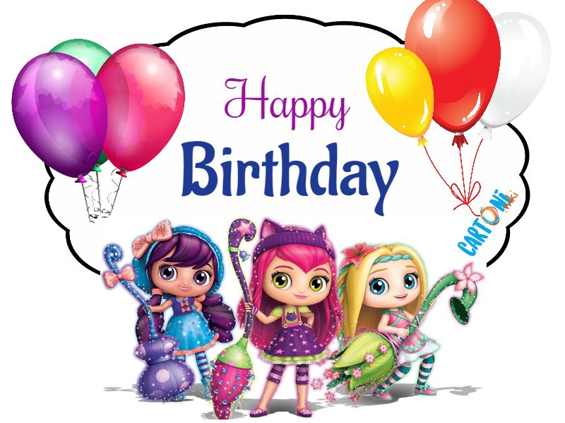 Little Charmers Happy birthday - Cartoni animati