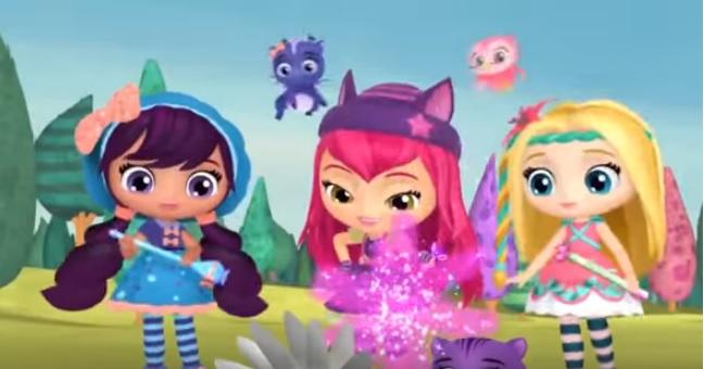 Little charmers sigla cartoni animati