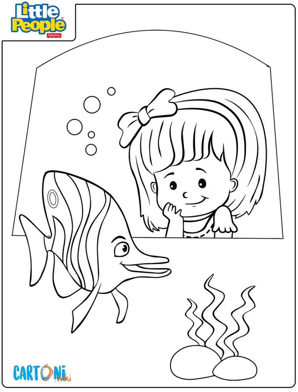 Little people disegni da colorare - Disegni da colorare