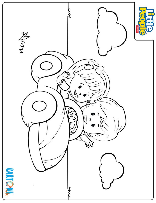 Little People coloring pages - Disegni da colorare