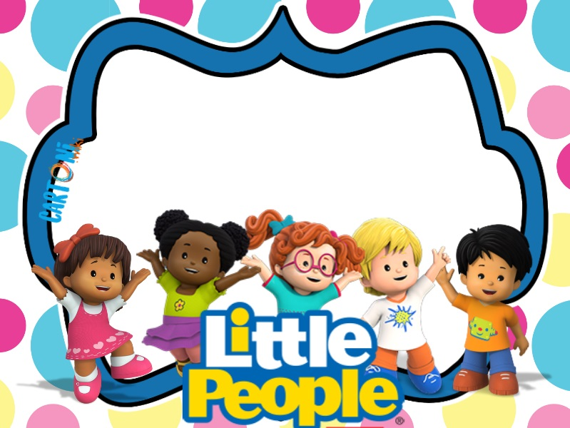 Invito festa compleanno Little People - Inviti compleanno online