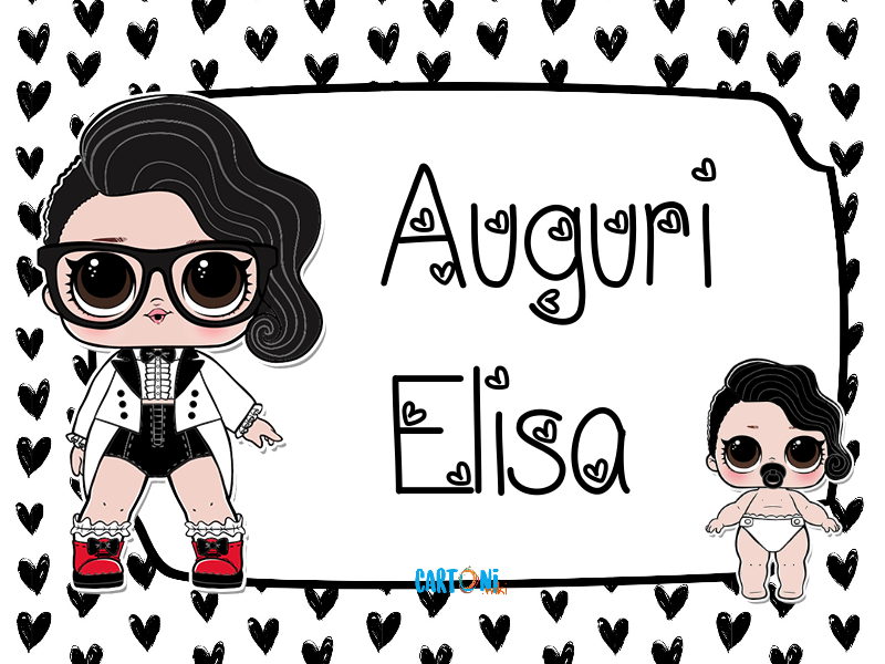 Lol surprise Black Tie Auguri Elisa - Cartoni animati