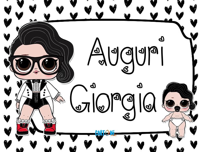 Lol surprise Black Tie Auguri Giorgia - Cartoni animati