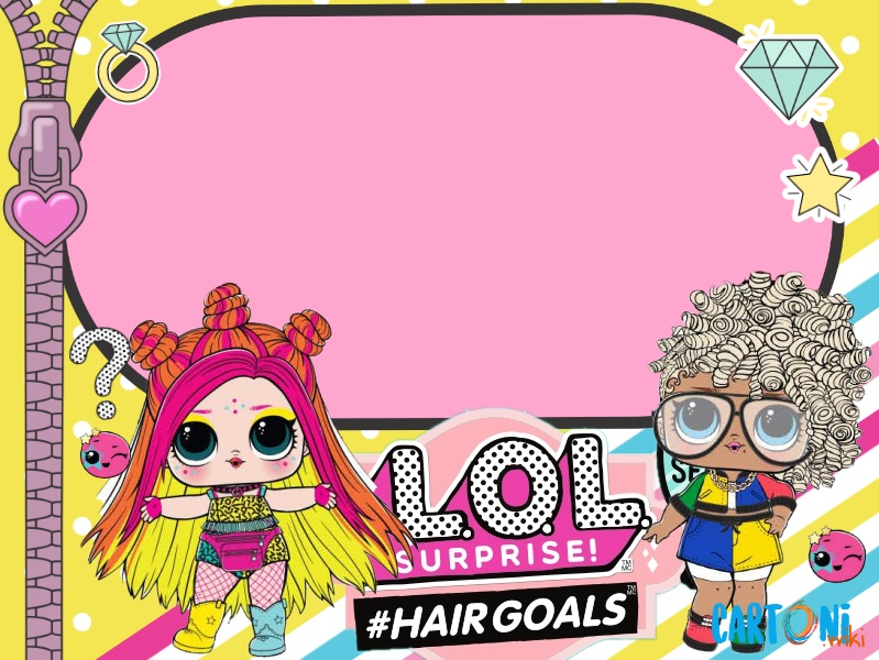 Inviti Lol Surprise #hairgoals wave 2 - Cartoni animati