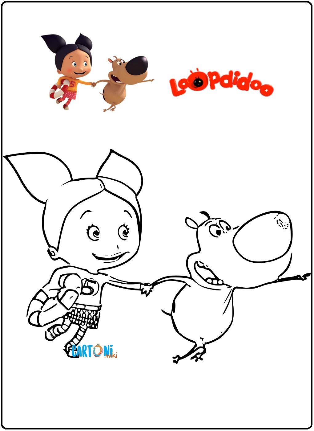 Disegni Loopdidoo - Disegni da colorare