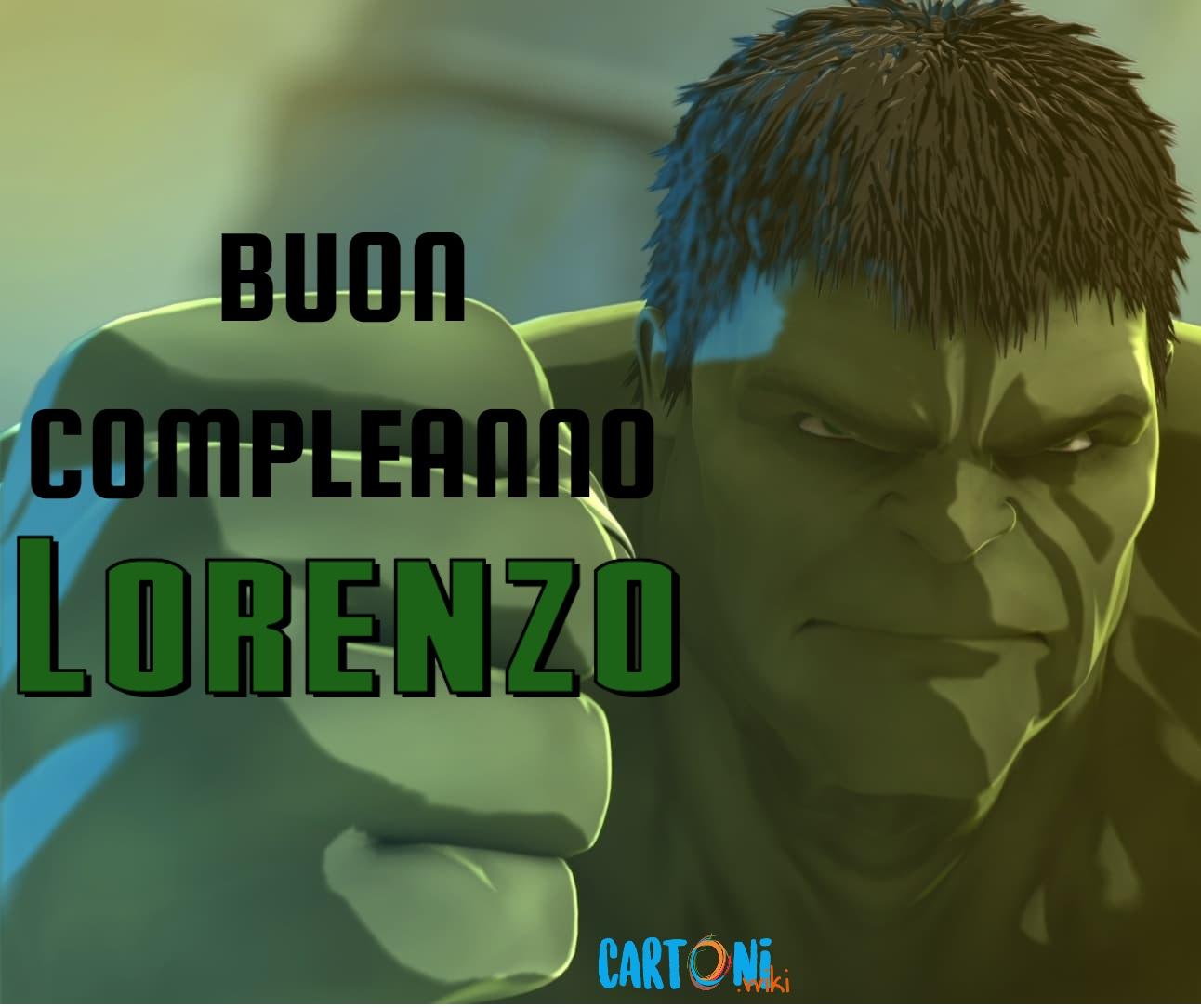 Lorenzo buon compleanno - Cartoni animati