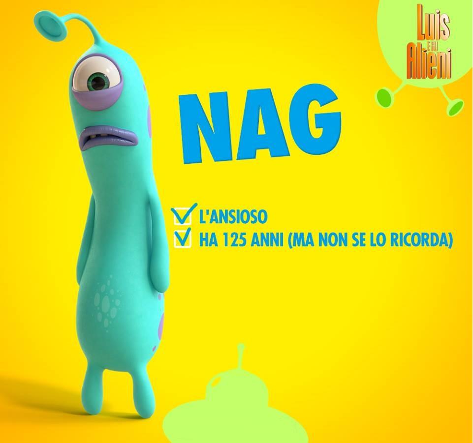 luis e gli alieni extraterrestre Nag -  film di animazione - famiglia - uscita al cinema luglio 2018 -  coming soon - imdb