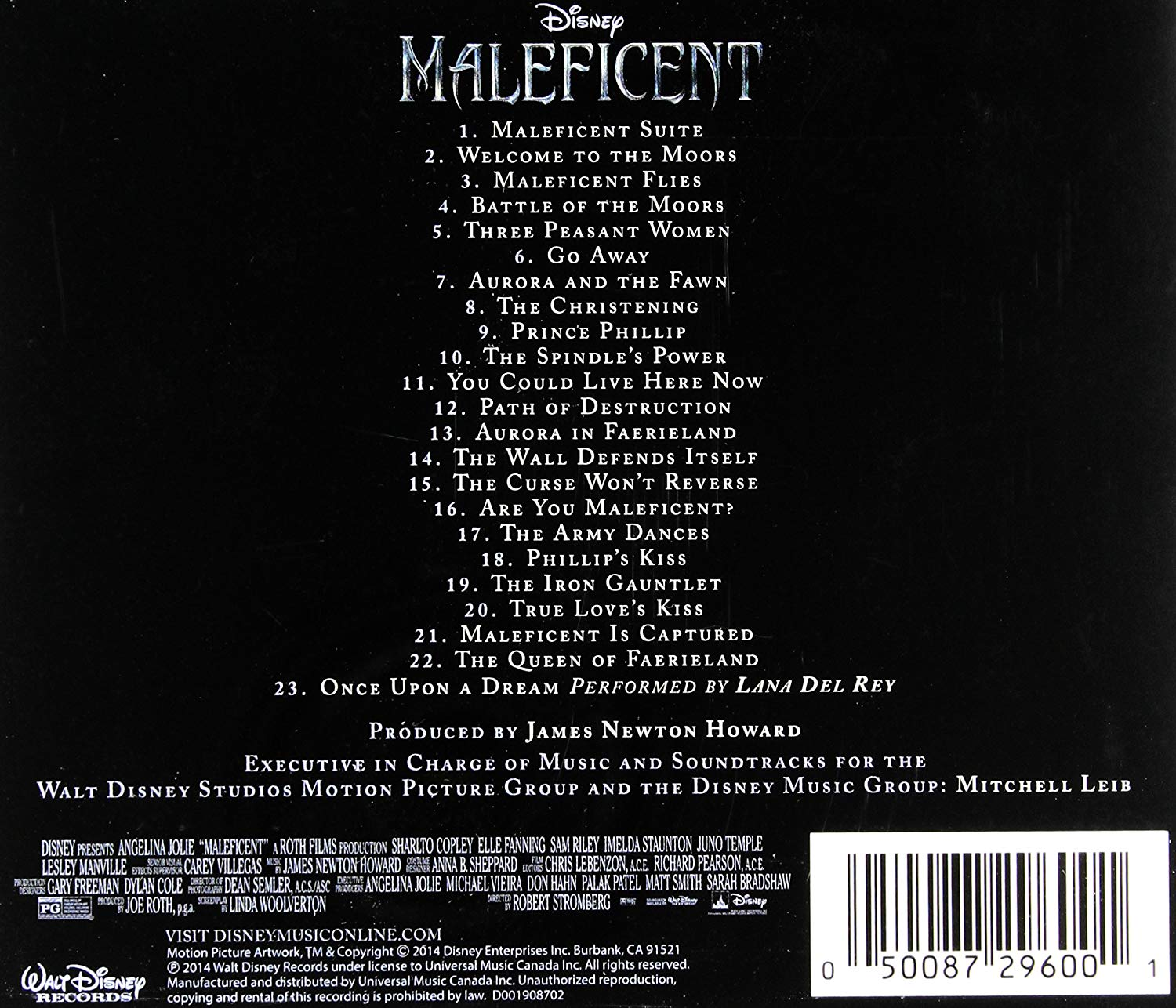 Maleficent (Original Motion Picture Soundtrack) - Colonna sonora Maleficent