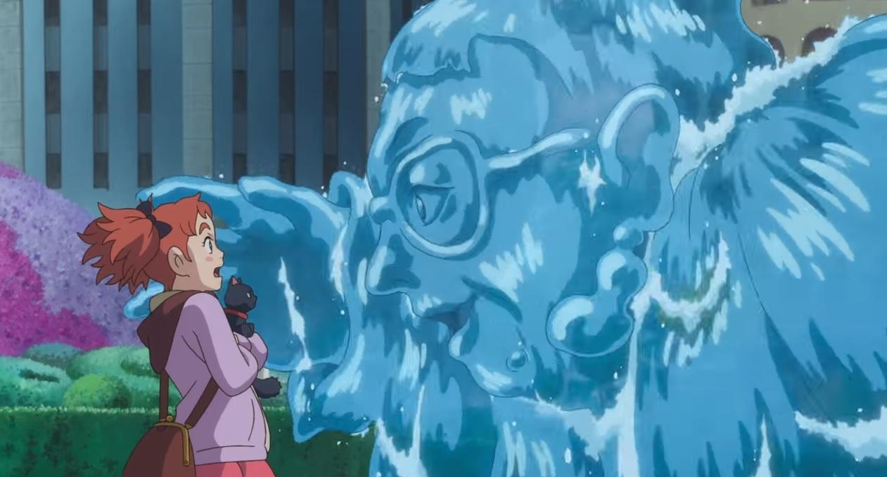 Mary e il fiore della strega film di animazione 2017 cartone animato giapponese anime