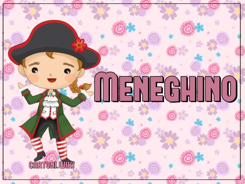 Maschera Meneghino - Cartoni animati
