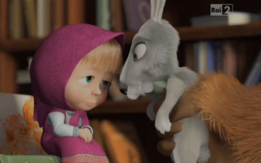 Masha e orso canzone del singhiozzo cartoni animati