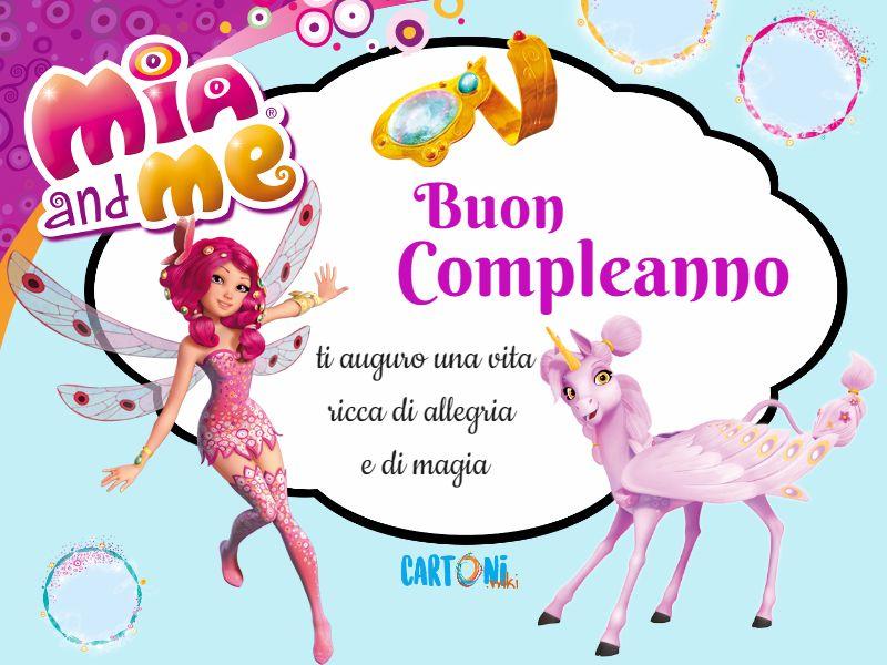 Buon compleanno con Mia - Cartoni animati